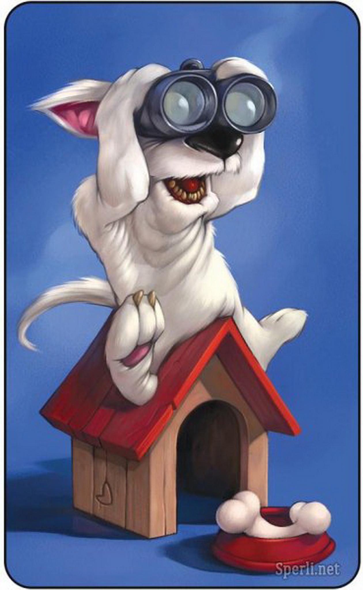 Животные рисунки смешные 5