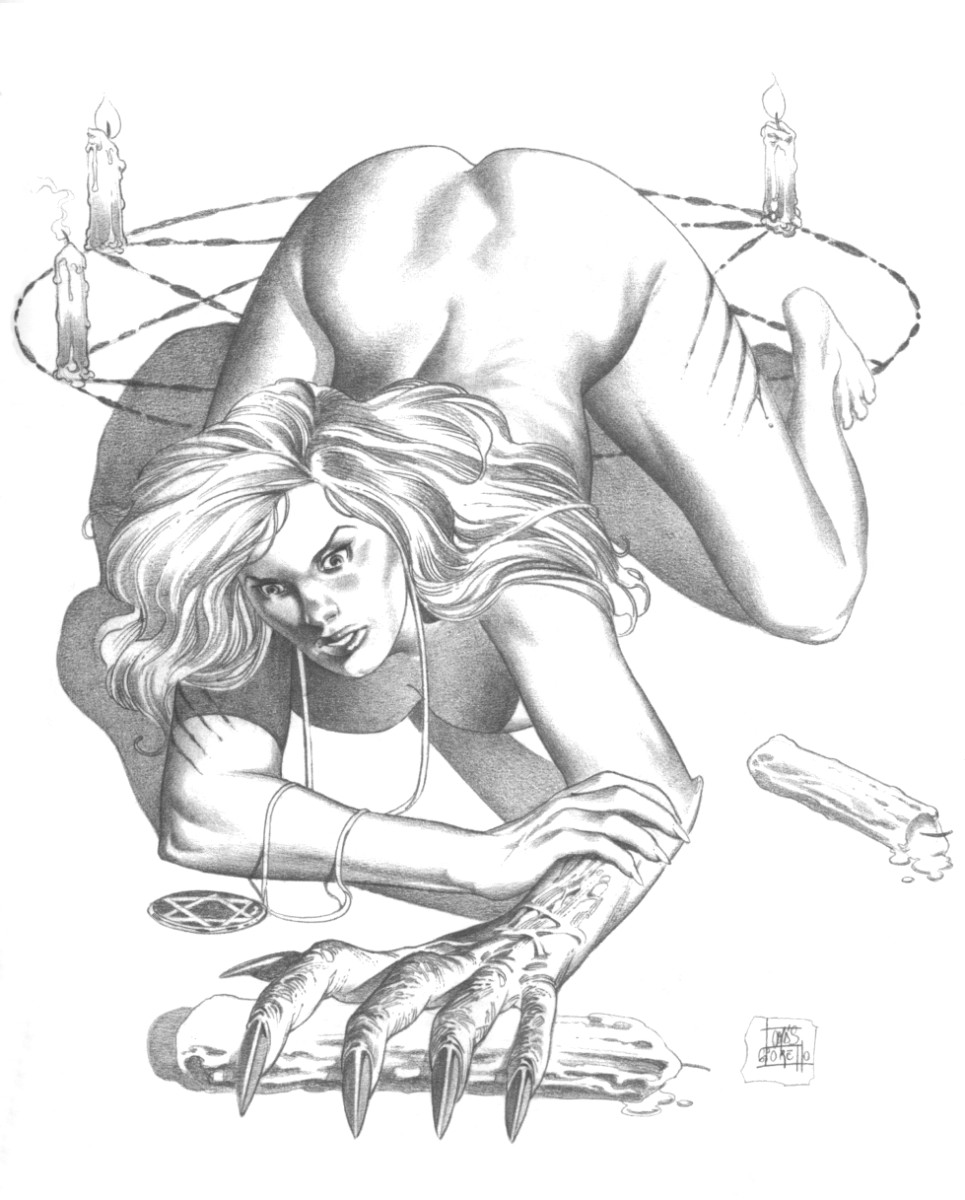 Nude vampire girl drawings porno scene
