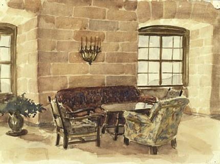 Собственные работы (рисунки) Адольфа Гитлера (46 работ)