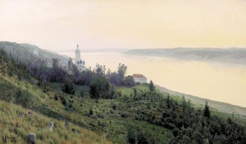 Подборка картин Исаака Левитана (13 работ)