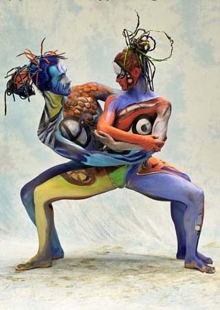 Боди-арт - Роспись на обнаженном теле. Большая коллекция фото (242 фото) (эротика)