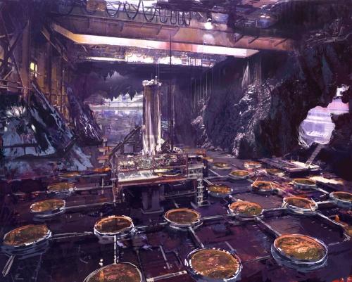 Коллекция цифровых художников - Craig Mullins (346 работ)