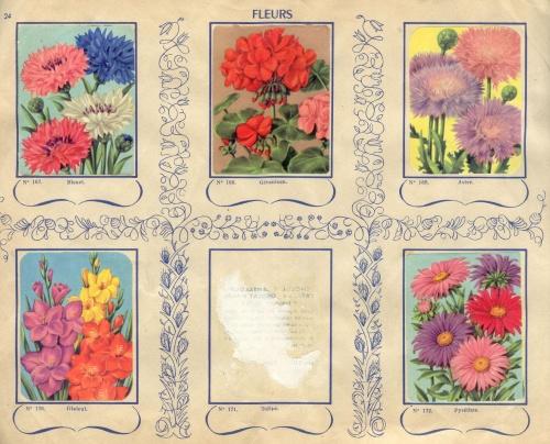 Винтажные цветы (5 работ)