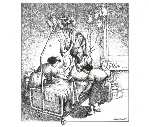 Альбом карикатур, том 3 - Медицина (64 работ)