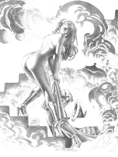 Erotic Fantasy of Tomas Giorello (42 работ)