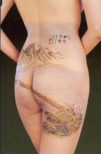 Боди арт - искусство выглядеть красиво (330 фото) (эротика)