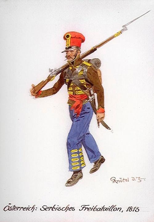 Австрийская армия 1812 года (40 работ)