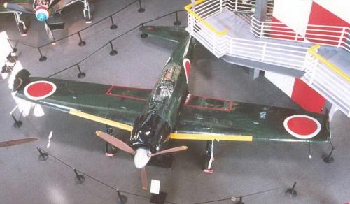 Японский истребитель A6M3 Zero (60 работ)