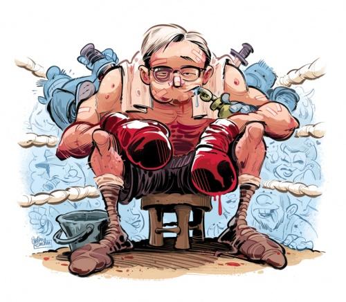 Иллюстратор и карикатурист Anton Emdin (245 работ)