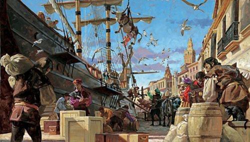 Современный художник Gregory Manchess (71 работ)