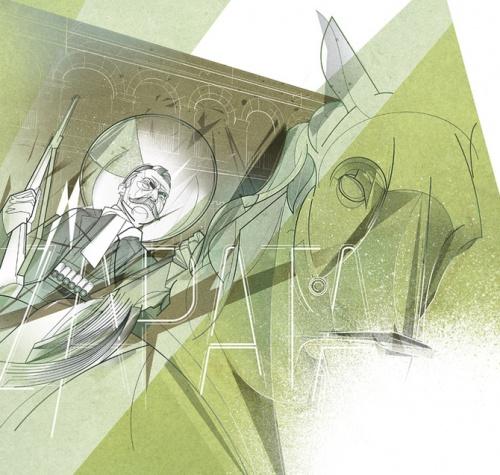 Иллюстратор Cesar Moreno (30 работ)