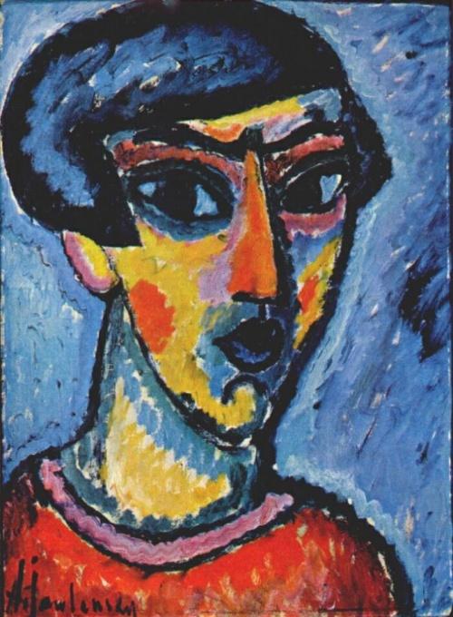 Русский художник-экспрессионист Алексей фон Явленский (1864-1941) (19 работ)