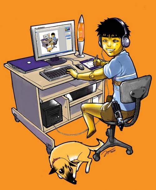 Jennyson Allan Borlongan Rosero - художник аниме из сингапура (60 работ)