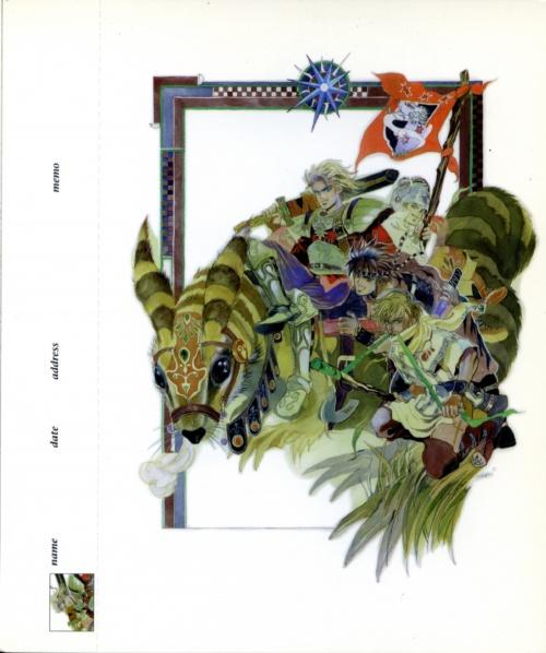 SaGa Frontier II Postcards (46 работ)