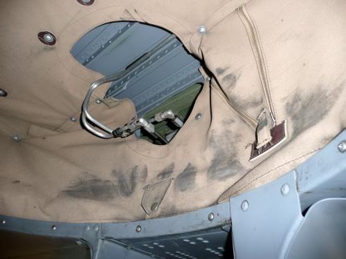 Американский истребитель Curtiss P-40E Warhawk (121 фото)