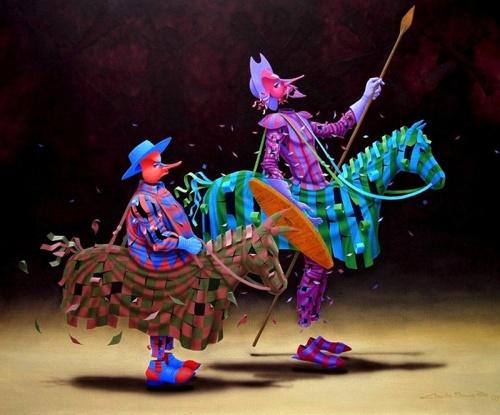 Театр жизни Claudio Souza Pinto (85 работ)