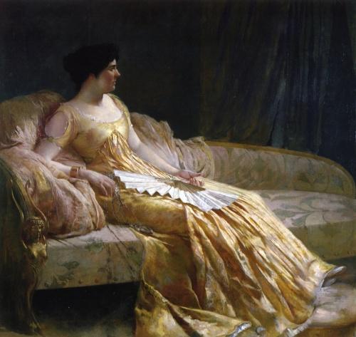 Американский художник Edwin Howland Blashfield (1848-1936) (56 работ)