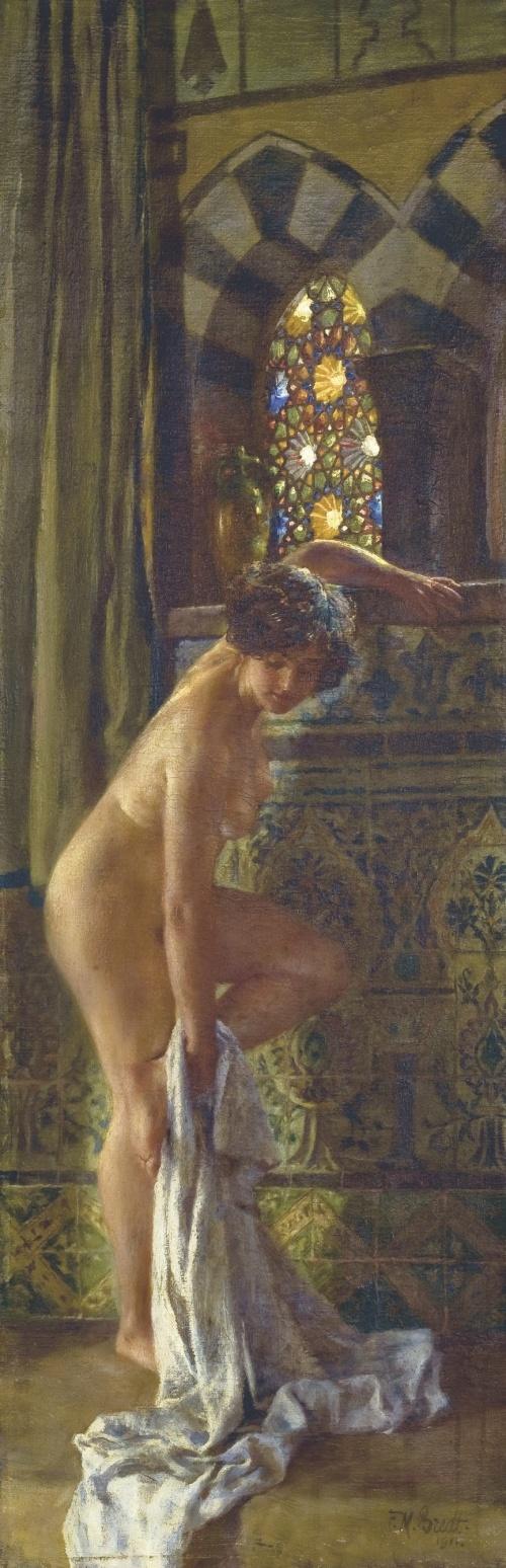 Немецкий художник Ferdinand Max Bredt (1868-1921) (41 работ)