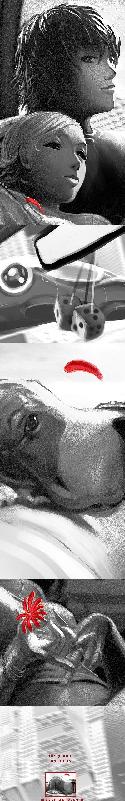 HOON: художник-иллюстратор из США (100 работ)
