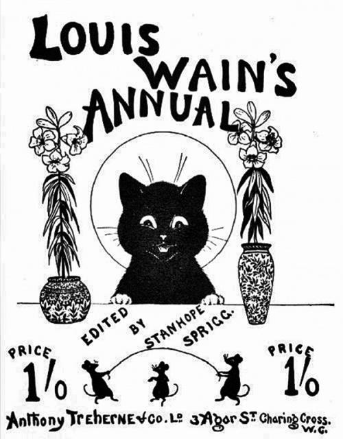 Луис Уильям Уэйн (Louis William Wain) (102 работ)