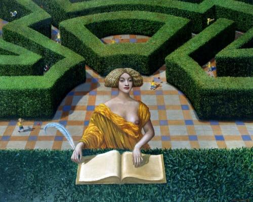 Работы австралийского художника-сюрреалиста Mайка Уоррэлла (70 работ)