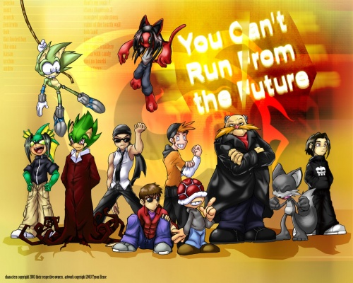 Тайсон Хиз (Tyson Hesse): американский аниме художник, также известен под никами RittZ и Mechanical-Penguin (120 работ)