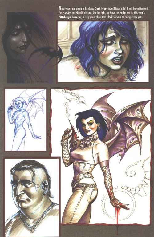 Dawn. 2005 Convention Sketchbook (23 работ)