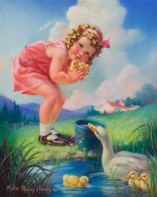 Художник - иллюстратор Mabel Rollins Harris (63 работ)
