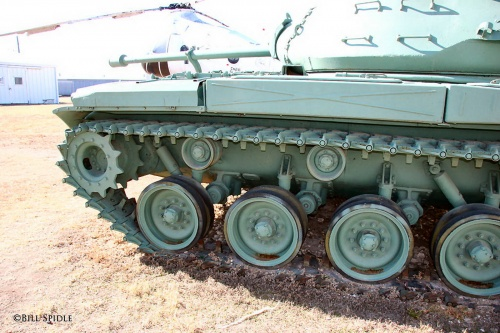 Американский легкий танк M41 Walker Bulldog (58 фото)