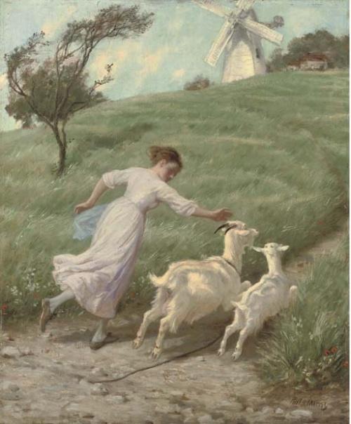 Английский художник Philip Richard Morris (1833-1902) (60 работ)