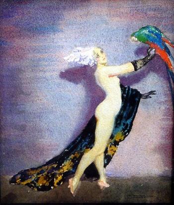 Австралийский живописец Норман Линдсей (Norman Lindsay) (329 работ)
