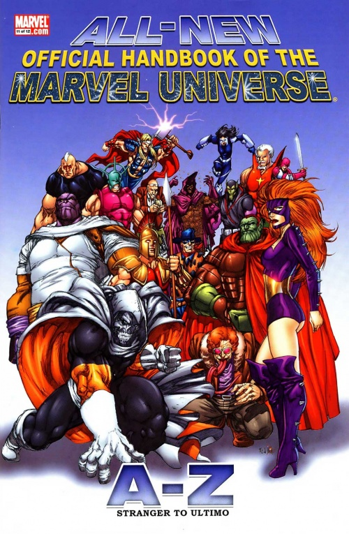 Official Handbook of the Marvel Universe A to Z (8 том)