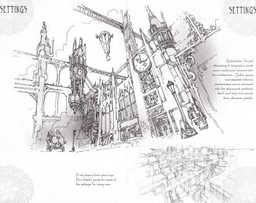 Steampunk Sketchbook Magazine №1 2012 (30 работ)