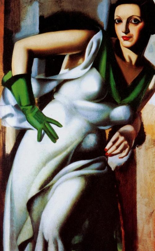 Живопись в стиле Арт Деко. Тамара де Лемпика (Tamara De Lempicka) (156 работ)