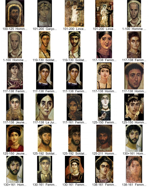 Фаюмские портреты | I—IIIe | Portraits du Fayoum (83 работ)