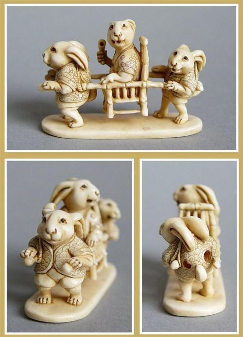 Нэцкэ – маленькая символическая резная фигурка (53 фото)