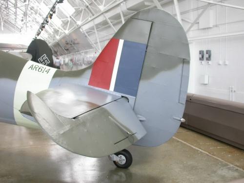 Английский истребитель Spitfire Mk.Vc (30 фото)