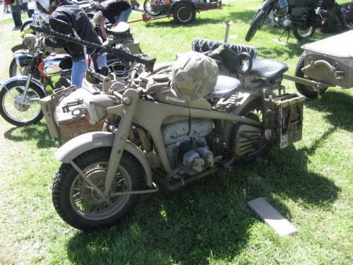 Немецкий мотоцикл Zundapp KS-750 (63 фото)