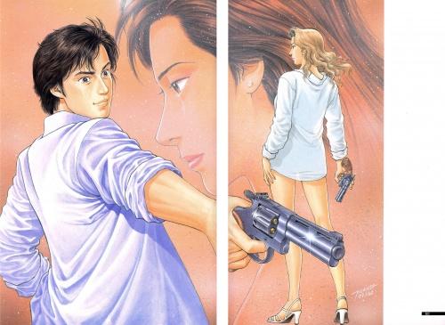 Tsukasa Hojo Artworks 20th anniversary illustrations (93 работ)