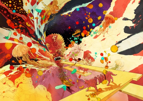 Artworks by Shan Jiang (172 работ)