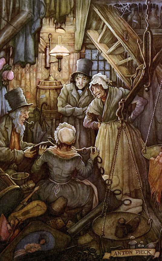 Was Ebeneezer Scrooge unfairly portrayed by Charles Dickens?