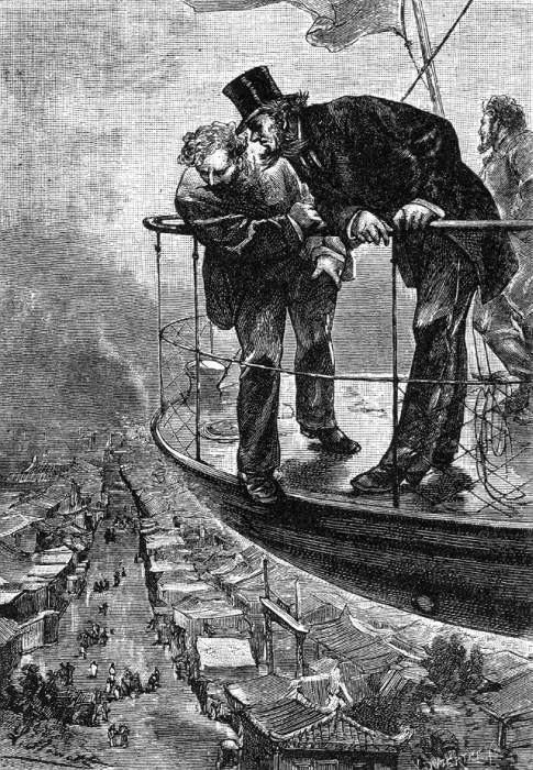 Иллюстрации к произведениям Жюля Верна (228 работ)