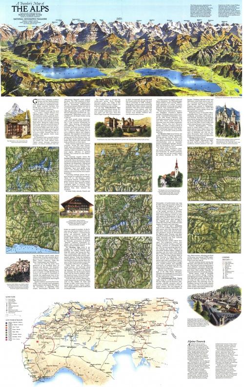 Сборник карт от National Geographic. Часть 5 (22 фото)