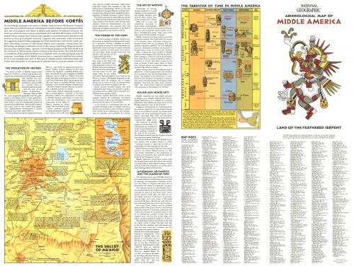 Сборник карт от National Geographic. Часть 1 (21 фото)
