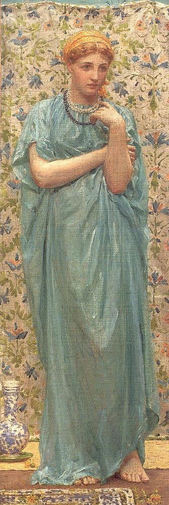 Альберт Джозеф Мур (Albert Joseph Moore) художник пре-рафаелит (41 работ)