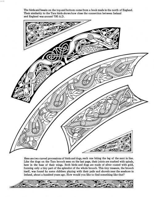 Картины Courtney Davisа в кельтском стиле на тему легенды о Короле Артуре и ирландские орнаменты (170 фото)