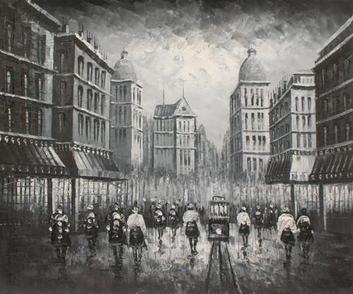 Живопись - Париж (масло) (49 работ)