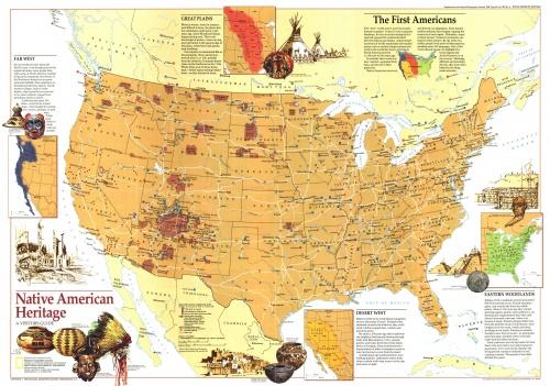 Сборник карт от National Geographic. Часть 4 (15 фото)