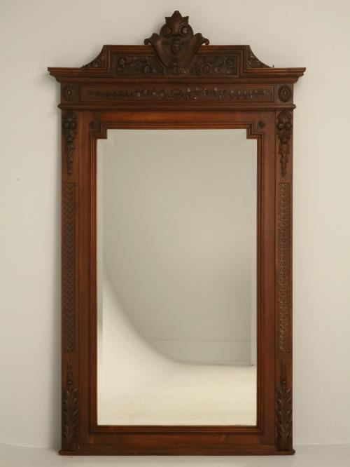 Реставрация деревянной рамы для зеркала своими руками