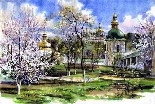 Замечательные картины художника Сергея Брандта (19 работ)